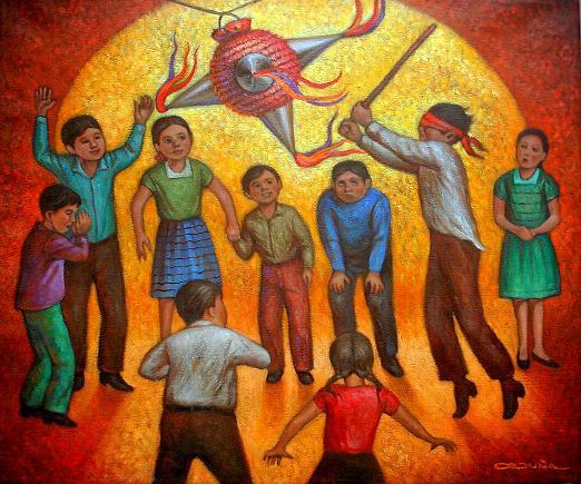 Pintores mexicanos y emociones alegr a alettermoran for Arte mural mexicano
